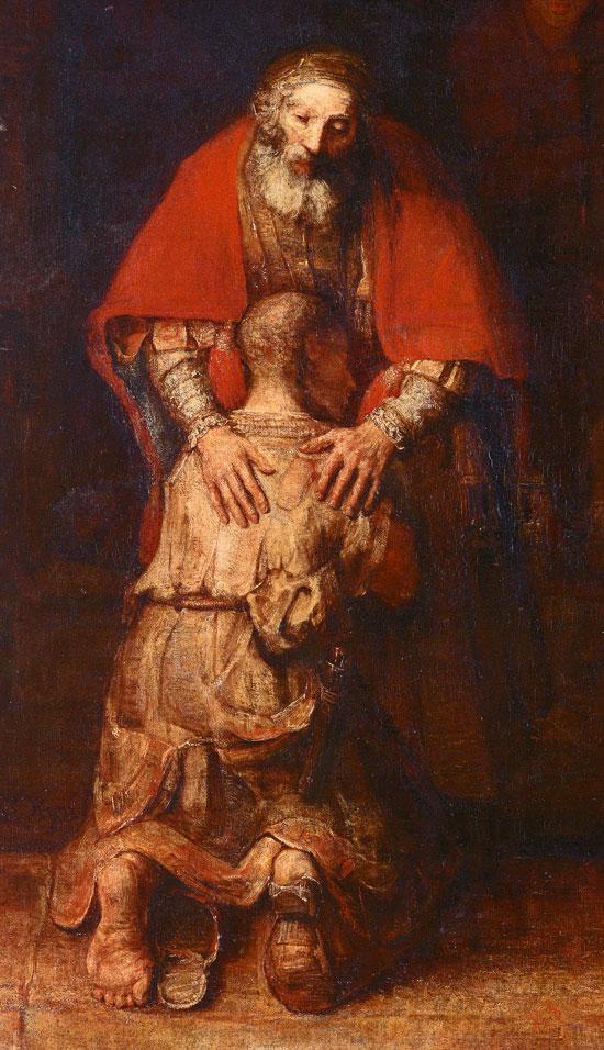 Rembrandt - Verlorene Sohn